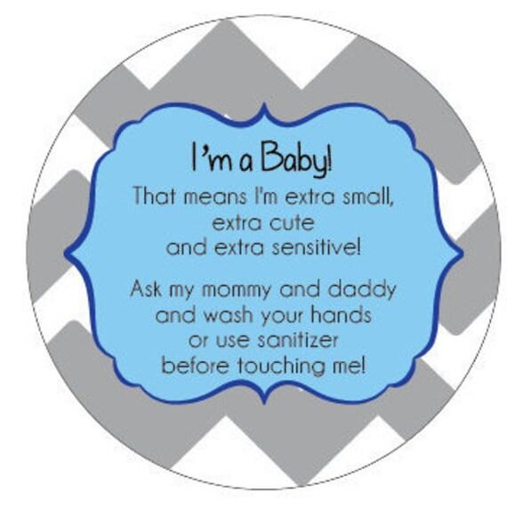 Boy Preemie, newborn, baby car seat tag, baby shower gift, stroller tag, baby car seat sign