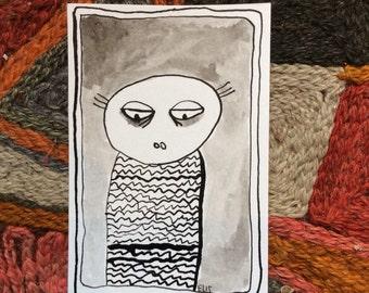 Poeldier met trui
