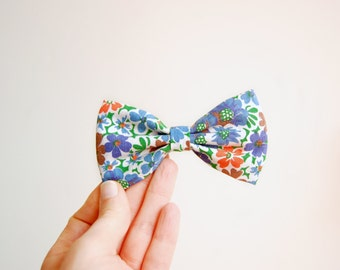 Hair Bow Clip Flower Bow Tie Hair Clip On Christmas Gift