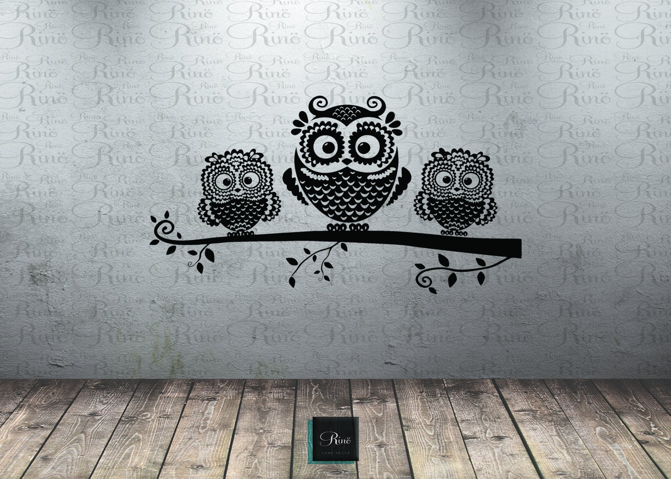 Owl decor for baby room - Owl Wall Decal Owl On Branch Decal Owl Decor Owl Nursery Wall Art Baby Room Tree Mural Decal Owl Vinyl Wall Decals Owl Sticker