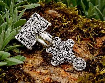 Anglo-Saxon Square-headed brooch  - [07 Fib SQU/N1 D-3]