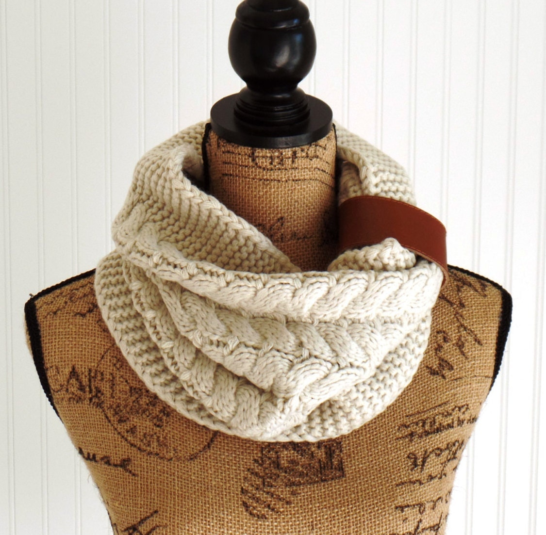 Knit Infinity Scarf Knit Scarves Snood Scarves by uptowngirlco