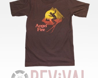 Vintage Angel Fire T-Shirt ~ Size XXS