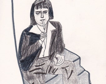Carson McCullers Signed Digital Print
