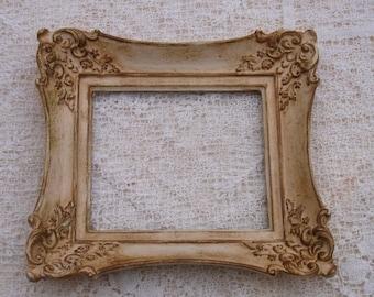 Ornate Vintage Picture Frame Cottage Chic Hollywood Regency Wedding Decor