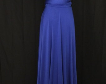 Royal blue  Infinity Dress Convertible Formal,wrap dress ,bridesmaid dress,party dress Evening dress -C16#B16#