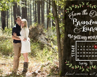 Made to Order Save the Date - Digital File