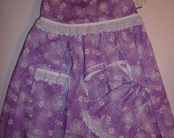 Hibiscus Print Infant Girls' Dress