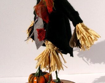 Mr Belasko – The Gentleman Scarecrow - OOAK Horror art doll