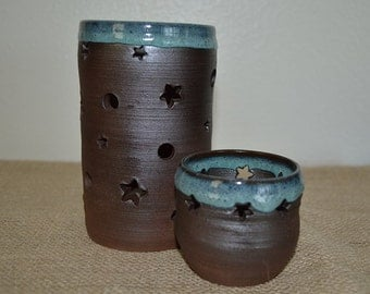 Luminary candle holders, candle holders, votive holders, luminaries, tea lite holders, candle, votive