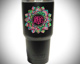 Yeti Decal Etsy - Custom stickers for yeti cups