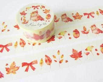 Autumn tale washi tape