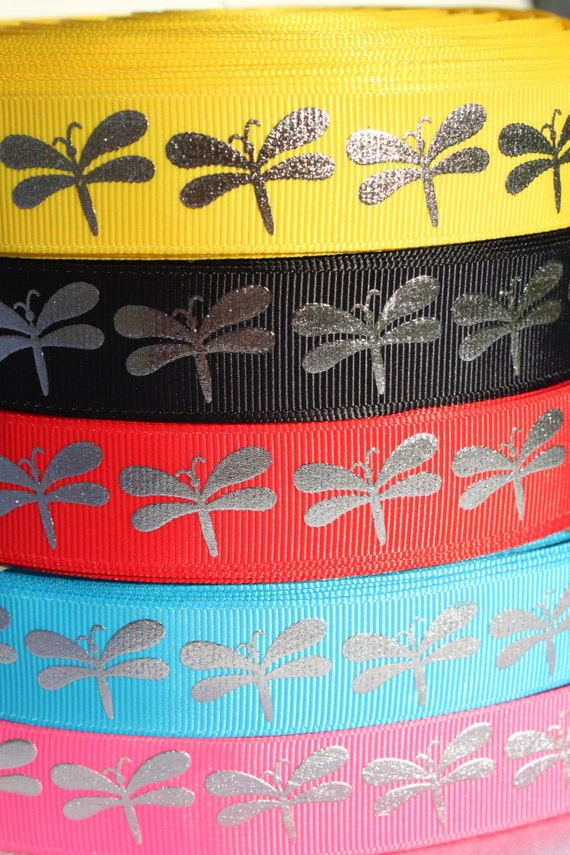 Basket Weaving Supplies Charleston Sc : Sale dragonfly inch grosgrain ribbon by the yard for