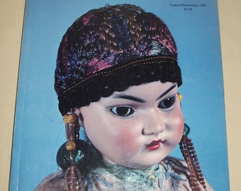 Vintage DOLL READER August - September 1983 Collectors Guide to Dolls Reference Book