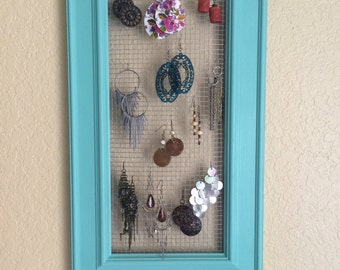 Jewelry Organizer - Earring Organizer - Necklace Organizer - Accessory Organizer - Jewelry Storage - Earring Storage - Necklace Storage
