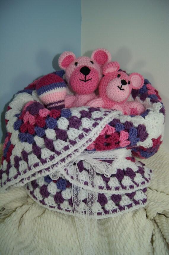 Baby Gift Packs Uk : Baby gift bundle girl pack handmade crochet