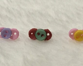Mini OOAK baby pacifiers for 2-4''