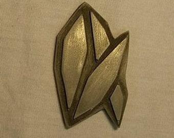 ATLIS logo (Cold cast metal)