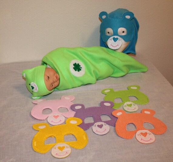 Care bear costume Baby Carebear costume Good Luck Bear sie