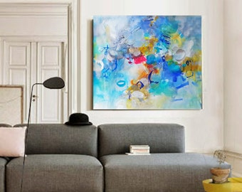 Modern Art Abstract Painting Original Painting Canvas Art Abstract Painting Canvas Art Living Room Art Large Abstract Painting Wall Hanging