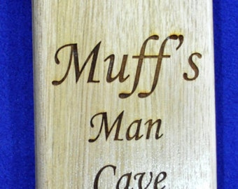Groomsmen Gift ~ Engraved Bottle Opener ~ Gift For Brother ~ Husband Gift ~ Engraved Wood Gift ~ Bar Gift ~ Gift For Dad ~ Man Cave Gift ~