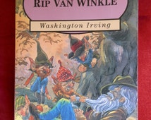 Vintage Children's Book: Rip Van Winkle by Washington Irving Published by Parragon Children's Classics inn 1994