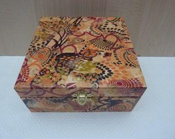 16cm Decorative Box  decopatched