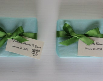 Baby Shower Soap Favors / Wedding Shower Soap Favors / Pure Olive Oil Soap