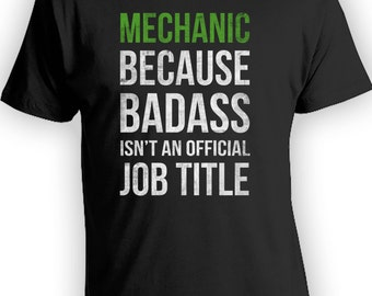 Mechanic Badass Shirt - Real Men Work Trades, Funny Mechanic Shirts, Funny Memes, Mens Shirts, Etsy, Dad Shirt,Fathers Day, redbubble CT-245