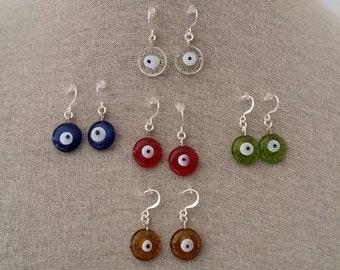 Evil Eye Earrings, Fashion Earrings