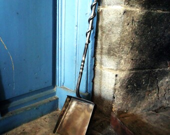Forged Fireplace Shovel, Fireplace Tool, Hearth Tool, Firepit Shovel