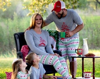 DAD: Family Christmas Outfits pajamas- DAD'S OPTIONS- Christmas Pjs- Holiday outfits- Christmas photshoot outfits