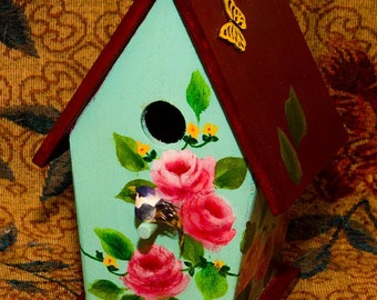 Handpainted Birdhouse4