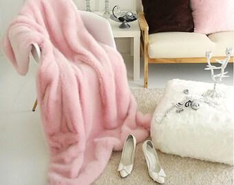 Pink Cozy Blanket Ultra Plush Throw Blanket