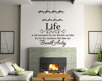 Inspirational Home Décor Vinyl Wall Art DIY Wall stickers