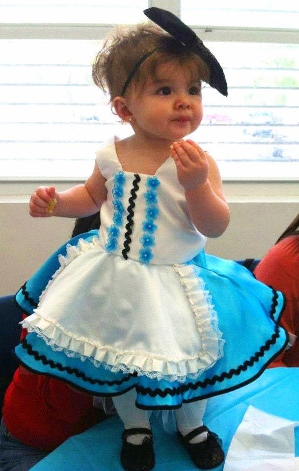 Baby u0026 Toddler Alice in Wonderland Costume/Dress  sc 1 th 282 & Alice In Wonderland Costume For Baby u2013 images free download