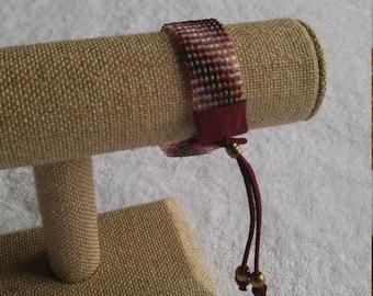 Bead Woven Women's Bracelet