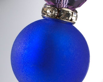 Klimt Blue Brooch