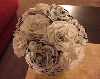 Duct Tape Wedding Bouquet