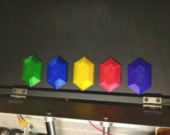 Legend Of Zelda Rupee Magnet