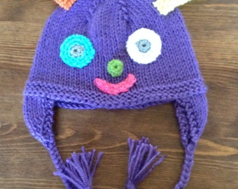 Infant Monster Hat