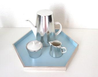 Melitta service jug thermos coffee pot sugar jar milk Kaennchen vintage design classic mid century Germany