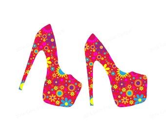 Clipart Shoe, Clipart Shoes, Clipart Fashion, Fashion Clipart, High Heel Clipart, High Heel Clip Art, Shoe Clipart, Shoe Clip Art