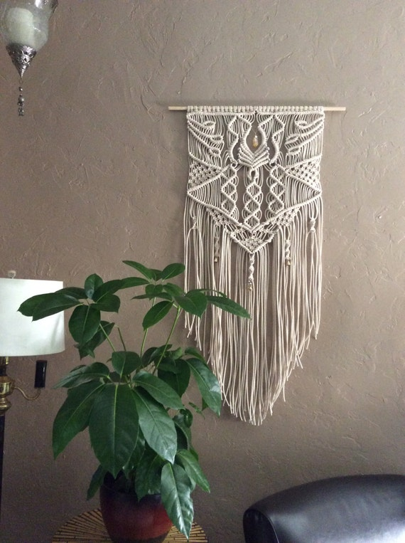 Large Macrame Wall Hanging Macrame Home Decor By