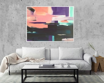 Modern Abstract Art Print | Giclee Print | Abstract Art Print | Abstract Print | Abstract Art | Modern Art Print | Original Painting Print