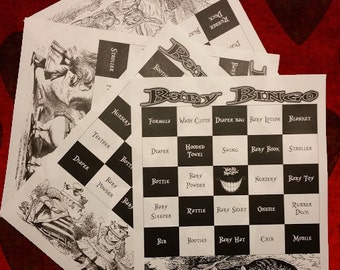 harry potter baby shower game pack by franklinstationary on etsy
