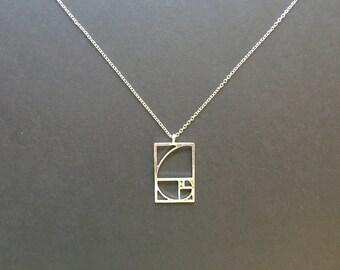 Fibonacci Golden Ratio Necklace