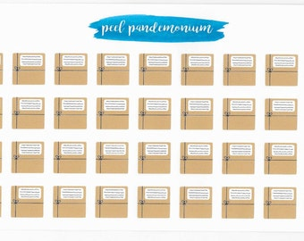 Large Package Planner Stickers