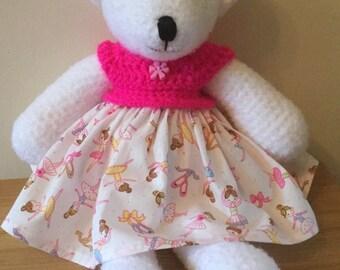 Crochet Ballerina Bear