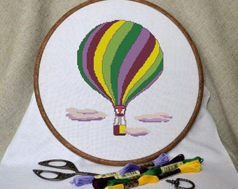 Balloon. Cross Stitch Pattern PDF - Instant download